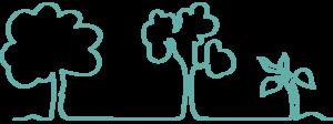 icono árboles ecoworking