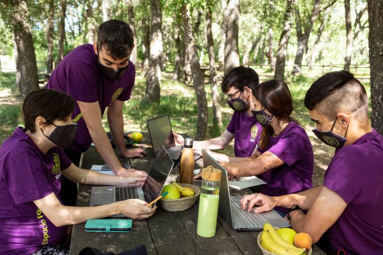 team building equipo en formación
