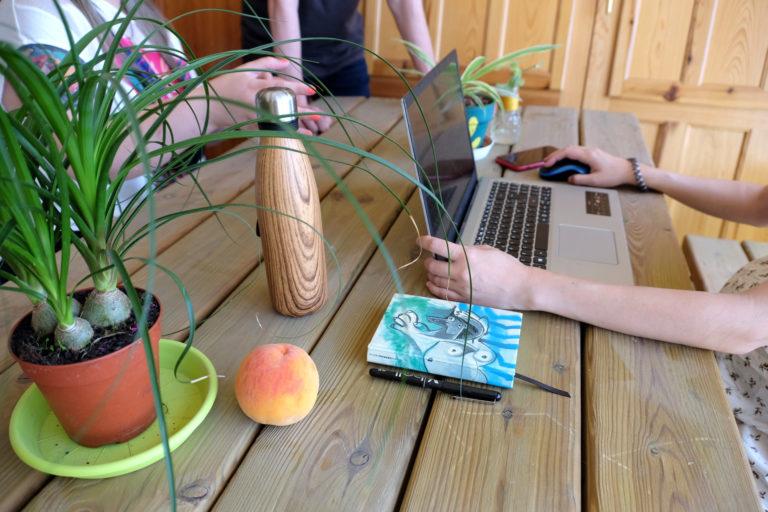 naturaleza y trabajo ecoworking